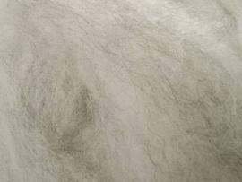 Australische merino lichtgrijs gemeleerd fijn 22 mic lontwol