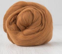 Merino lontwol 19 mic. per 50 gram Cinnamon
