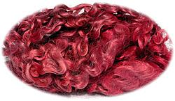 Wensleydale korte krullen per 10 gram roze