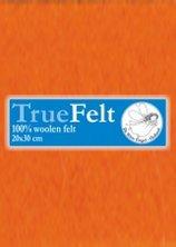 Truefelt 20 * 30 cm 505 oranje