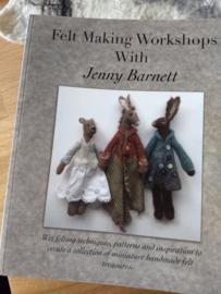 Felt Making Workshops With Jenny Barnett per stuk  Engelstalig