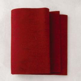 Patchfelt 20 * 30 cm 009 rood