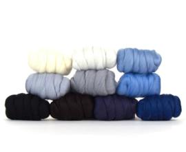 Winter kleurenset 23 micron 10 kleuren a 25 gram per pakket