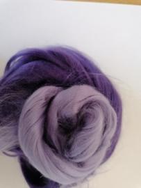 Viscosesetje per 25 gram  tinten lila / paars