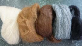Alpaka kleurenmix 50 gram