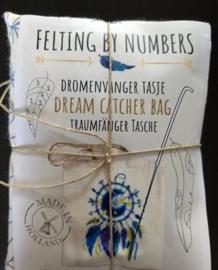 Tas dromenvanger : naaldvilten by numbers per pakket