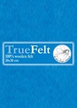 Truefelt 20 * 30 cm 551 turkoise