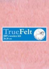 Truefelt 20 * 30 cm 525 roze