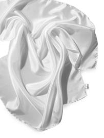 Ponge 05 sjaal wit 130 x 35 cm