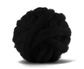 Corriedale  Raven (zwart) per 25 gram