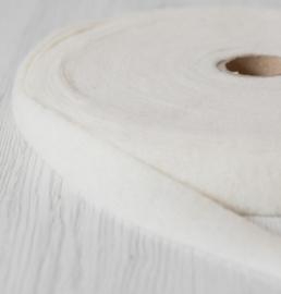 Naaldvlies band 2.5 cm breed - 5 m lang natural white