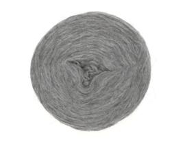 Wol voorgaren (pencil roving) per 10 gram  9102 grey