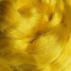 Tussahzijde per 10 gram geel