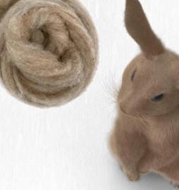 Corriedale konijn - rabbit  per 25gram