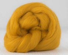 Merino lontwol 19 mic. per 50 gram Saffron