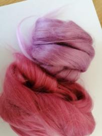 Viscosesetje per 25 gram tinten roze