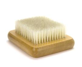 Naaldvilt borstelmatje wow 7 * 9 cm per stuk