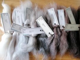 Labeltjes voor wol / vezels 21 t/m 40 stuks
