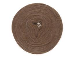 Wol voorgaren (pencil roving) per 10 gram  0009 brown