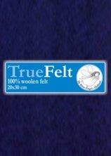 Truefelt 20 * 30 cm 555 nachtblauw