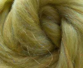 Glitter wol geel per 25 gram