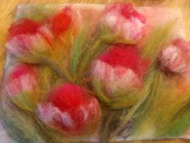 Workshop wol schilderen 3 uur