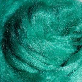 Tussahzijde per 10 gram Emerald