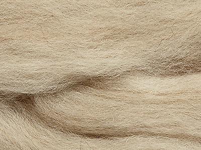 Australiche merino beige gemeleerd 22 mic lontwol