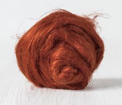 Vlas roestkleur per 10 gram