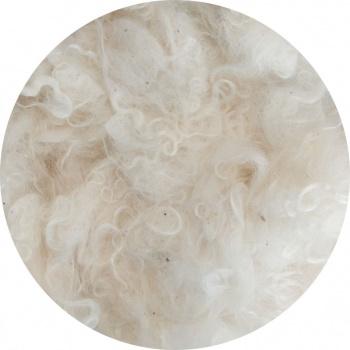 Mohairwol met krullen per 10 gram