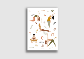 A4 poster Daily yoga