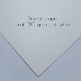 Lijntekening portret met abstracte achtergrond, vanaf €40,-