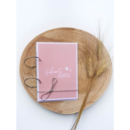 Bundel boekje roze