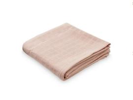 Hydrofiele doek met geborduurde naam -Blossom pink