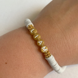 Armband katsuki met naam zand