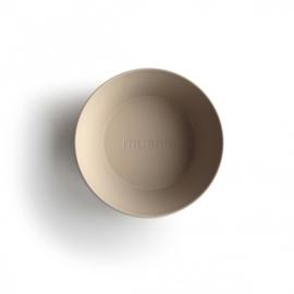 Mushie - Kommetjes set van 2 - Vanilla