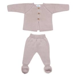 Newborn setje - Oud roze