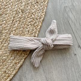 Haarband met strik - Sand ruffle