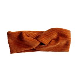 Haarband twist - Rib Roest