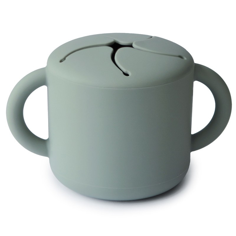 Mushie - Snack cup - Cambridge blue