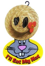 Eetbare stro hoed