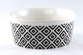 Food bowl with motif