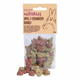 Appel & aardbei bunnies