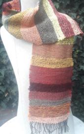 sjaal in herfstkleuren