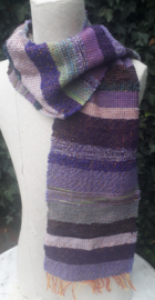 Paarse sjaal
