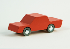 Back and Forth car - Rustic Red