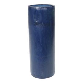 3 Kaarshouders voor waxinelichtje - blauw