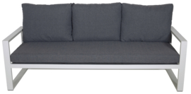 Loungebank Pina Colada Blanco 209x80cm