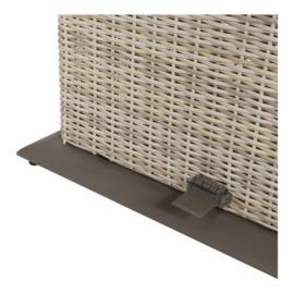 Loungetafel verstelbaar Soho Beach, easystone blad, 130x75cm