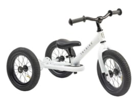 Trybike Steel 2 in 1 driewieler loopfiets wit